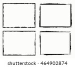 grunge frame.grunge background... | Shutterstock .eps vector #464902874