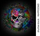skull | Shutterstock . vector #464903360