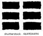 set of grunge banners.grunge... | Shutterstock .eps vector #464904494