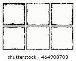 grunge frames set.abstract... | Shutterstock .eps vector #464908703