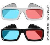 vector light and dark 3d... | Shutterstock .eps vector #464910194