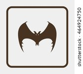 bat icon.   Shutterstock .eps vector #464924750