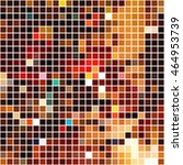 bright colorful mosaic seamless ... | Shutterstock .eps vector #464953739