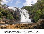 bakers falls. horton plains... | Shutterstock . vector #464960123