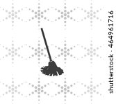 mop icon. floor cleaning object. | Shutterstock .eps vector #464961716