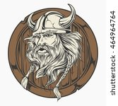 head viking | Shutterstock .eps vector #464964764