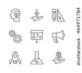 business process icons set ...   Shutterstock .eps vector #464971784