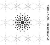 halftone effect. dots... | Shutterstock .eps vector #464974058