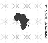 africa map illustration. | Shutterstock .eps vector #464977268