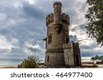 appley tower on isle of wight  | Shutterstock . vector #464977400