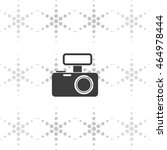 photo camera icon. | Shutterstock .eps vector #464978444