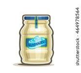 Vector Logo Big Jar Mayonnaise...