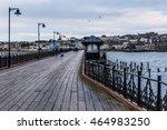 long pier in ryde  isle of... | Shutterstock . vector #464983250