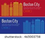 vector template banner for... | Shutterstock .eps vector #465003758