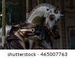 carousel horses details at a... | Shutterstock . vector #465007763