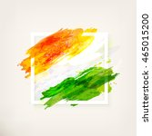 happy indian independence day... | Shutterstock .eps vector #465015200
