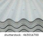 asbestos cement tiles on... | Shutterstock . vector #465016700