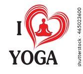 yoga love illustration heart of