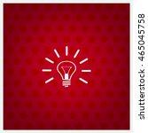light bulb lamp sign icon. idea ...