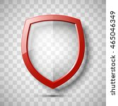 protection transparent shield... | Shutterstock .eps vector #465046349