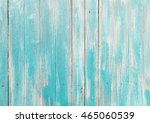 Rustic Cyan Table Top View Of...