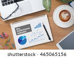 kpi acronym  key performance... | Shutterstock . vector #465065156