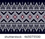 geometric ethnic oriental... | Shutterstock .eps vector #465075530