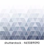 gray white grid mosaic... | Shutterstock .eps vector #465089090
