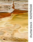 Small photo of Thermal Mineral Spring Hierve el Agua, Oaxaca, Mexico. 9th May 2015
