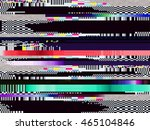 Glitch Background. Computer...