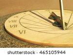Old Historic Design.a Sundial...