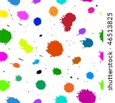 multicolored blots. seamless... | Shutterstock .eps vector #46513825