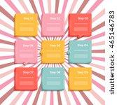 vector progress background  ... | Shutterstock .eps vector #465146783