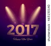 2017 happy new year vector... | Shutterstock .eps vector #465150140