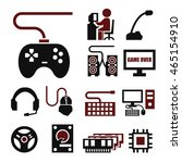 gamer icon set