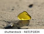 Yellow Glass Fragment Catches...