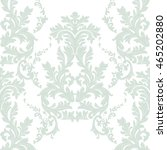 vintage baroque ornament... | Shutterstock .eps vector #465202880