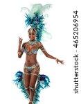 Female Dancer In Dance Positio...