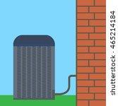 air conditioner unit concept.... | Shutterstock .eps vector #465214184