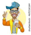 hip hop style   Shutterstock .eps vector #465216164