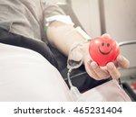 blood happy smile | Shutterstock . vector #465231404