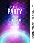 abstract modern party poster...   Shutterstock .eps vector #465232274