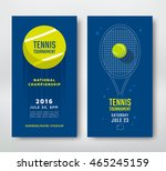 tennis championship or... | Shutterstock .eps vector #465245159