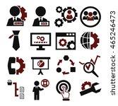 system  user  administrator... | Shutterstock .eps vector #465246473