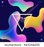colorful plastic background... | Shutterstock .eps vector #465246650