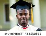 portrait of happy african male... | Shutterstock . vector #465260588