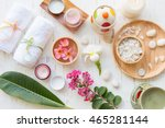 beauty and fashion concept with ... | Shutterstock . vector #465281144
