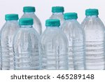 mineral water bottle on the... | Shutterstock . vector #465289148