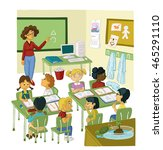primary class | Shutterstock . vector #465291110