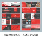business card templates.... | Shutterstock .eps vector #465314900